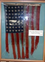 Dday American flag