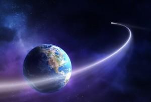 comet near earth
