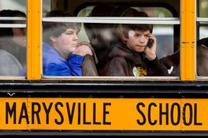 Marysville school bus