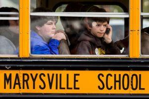 Marysville school bus