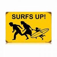 surfer family running
