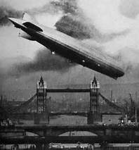 zepplin over london
