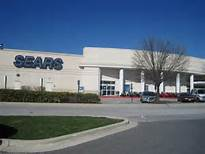Sears empty parking lot