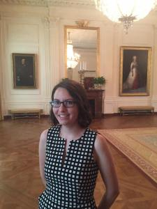 Rachel Patterson at the White House